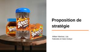 Stratégie marketing pour BENCO